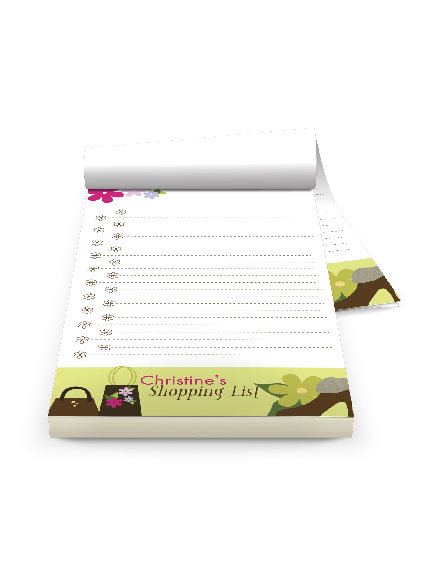 Branded Notepad Printing - Full Color Printing Services - Roseville Printing California