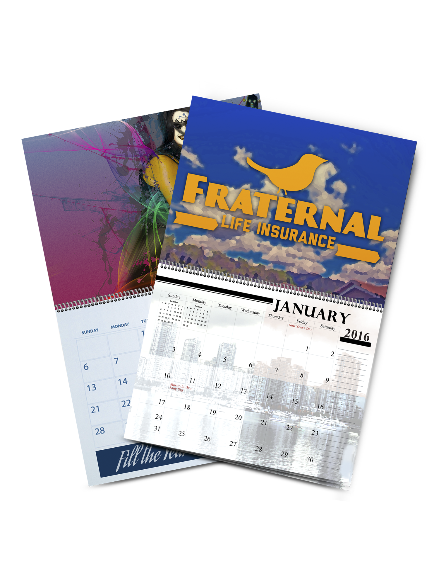 Calendar Printing - Full Color Printing Services - Roseville Printing California