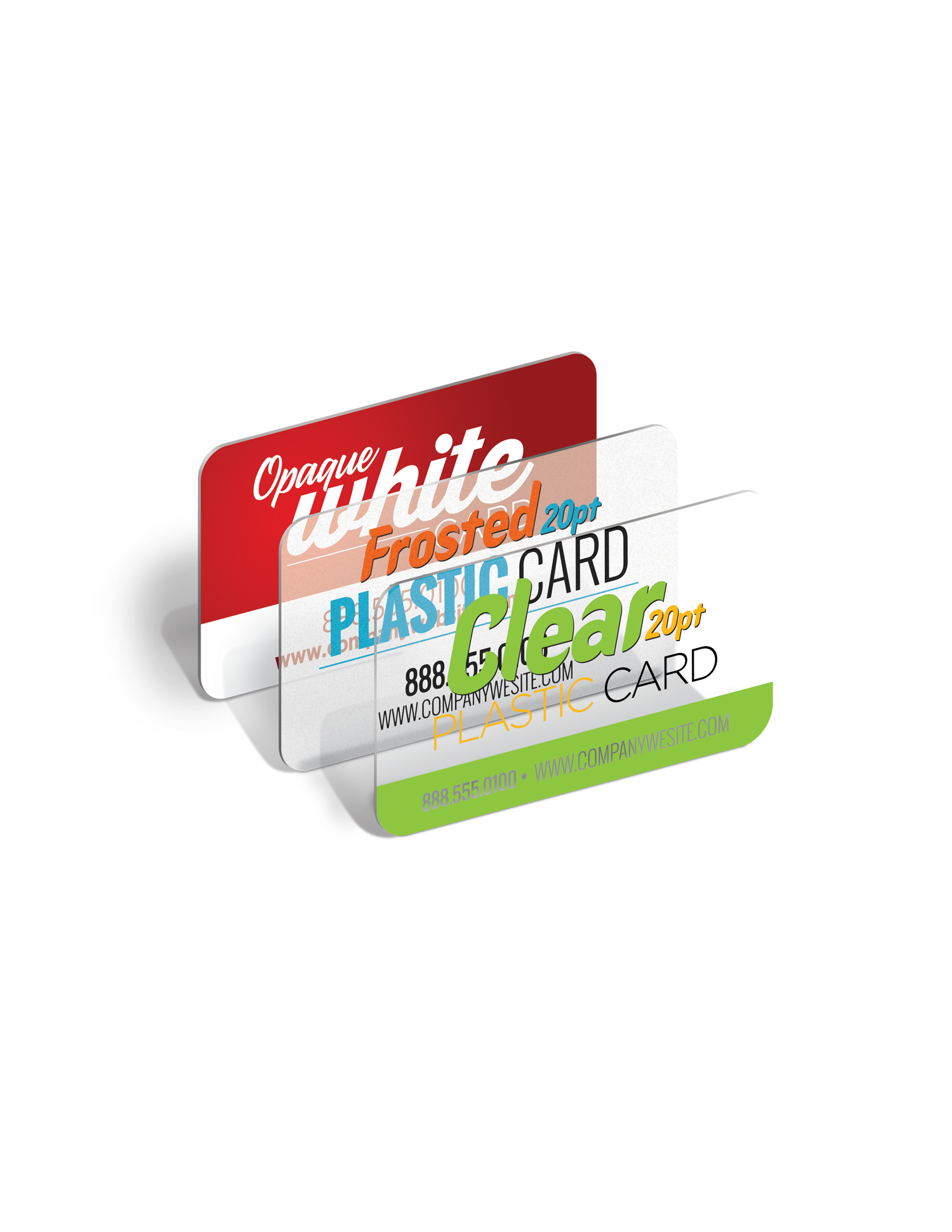 Plastic Business Card Printing - Full Color Printing Services - Roseville Printing California