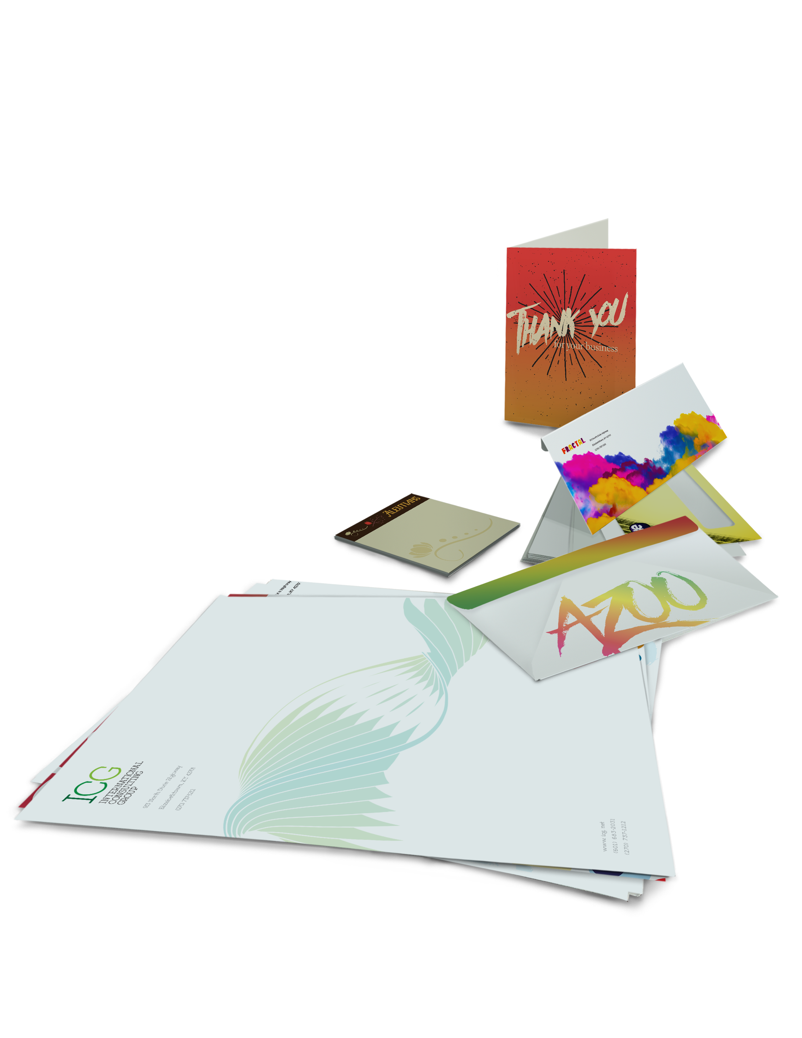 Promotional Stationary Printing - Full Color Printing Services - Roseville Printing California